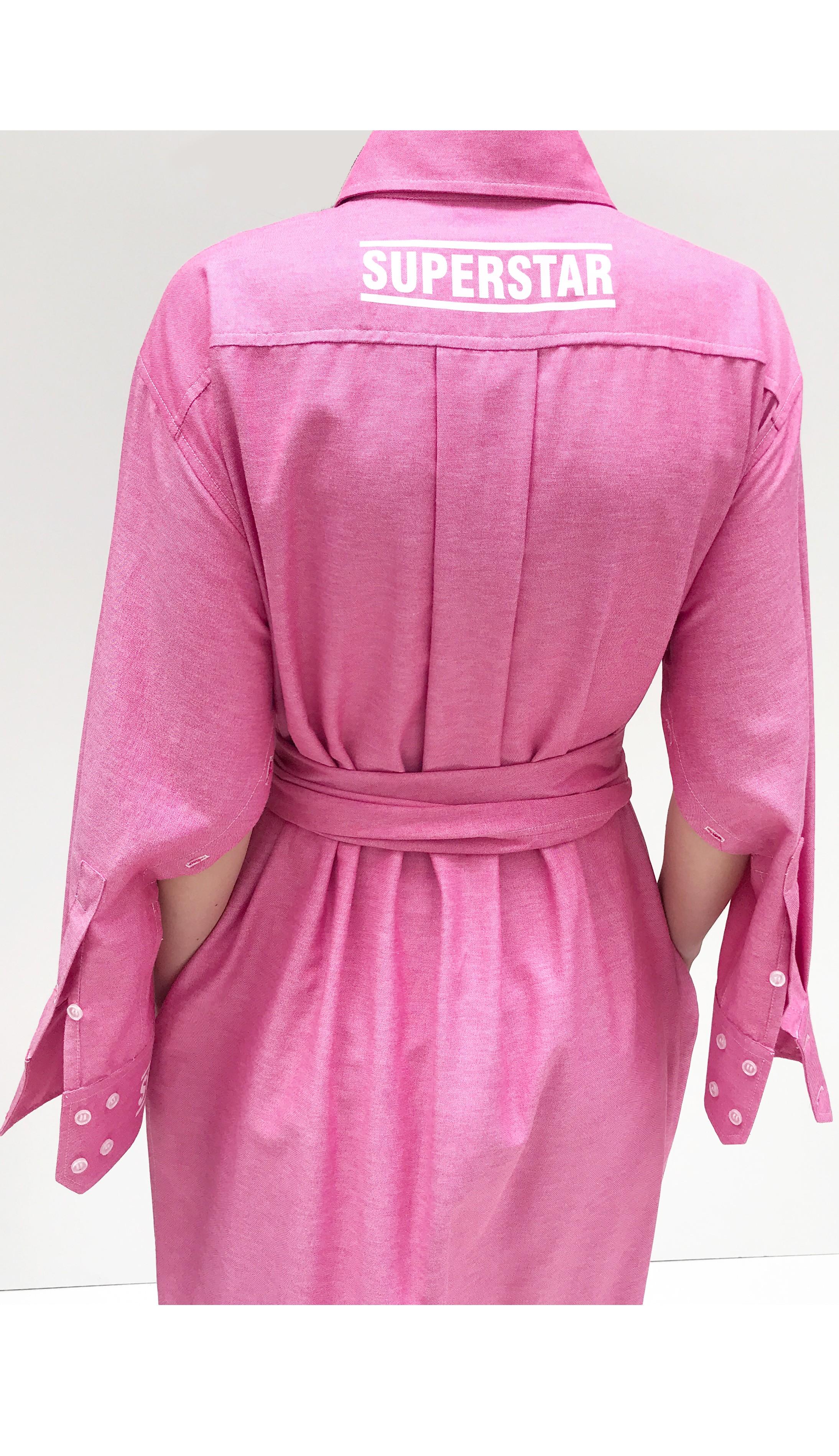 JSP OVERSIZE SHIRT DRESS