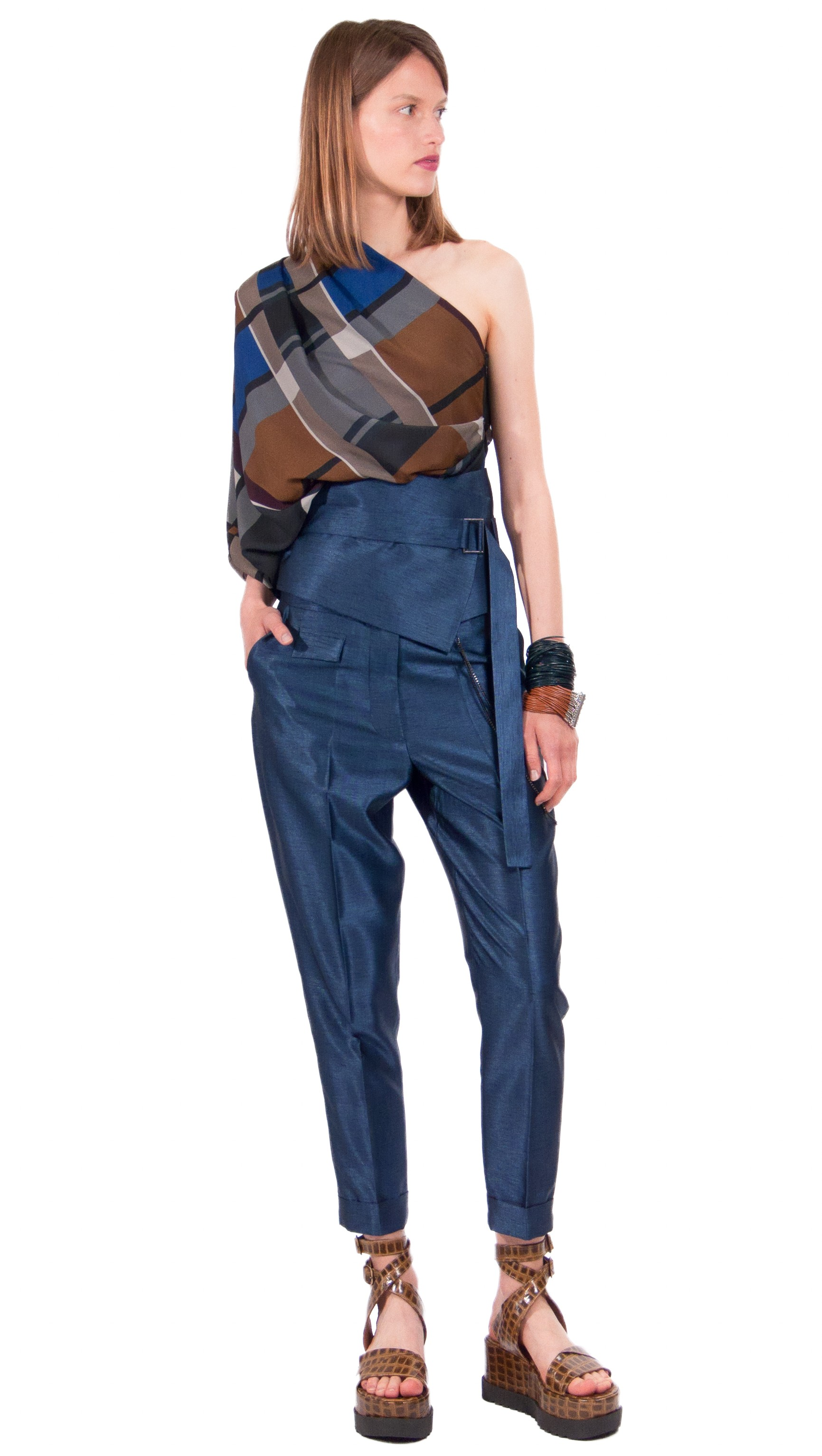 JSP PANTS WITH BELT