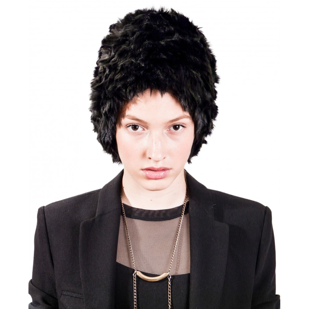 JSP FAUX FUR HAT 001