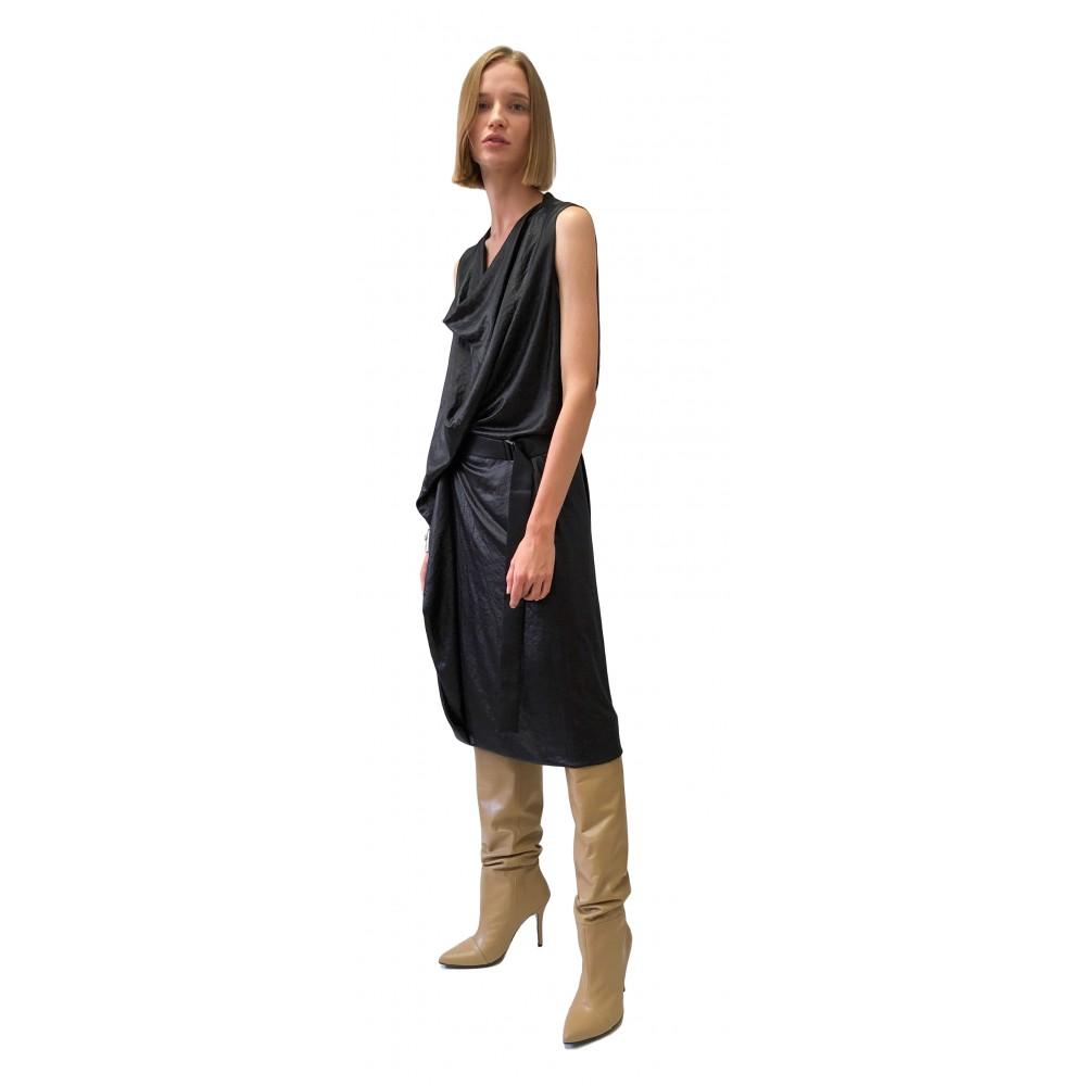 JSP HOLE DRAPE  DRESS