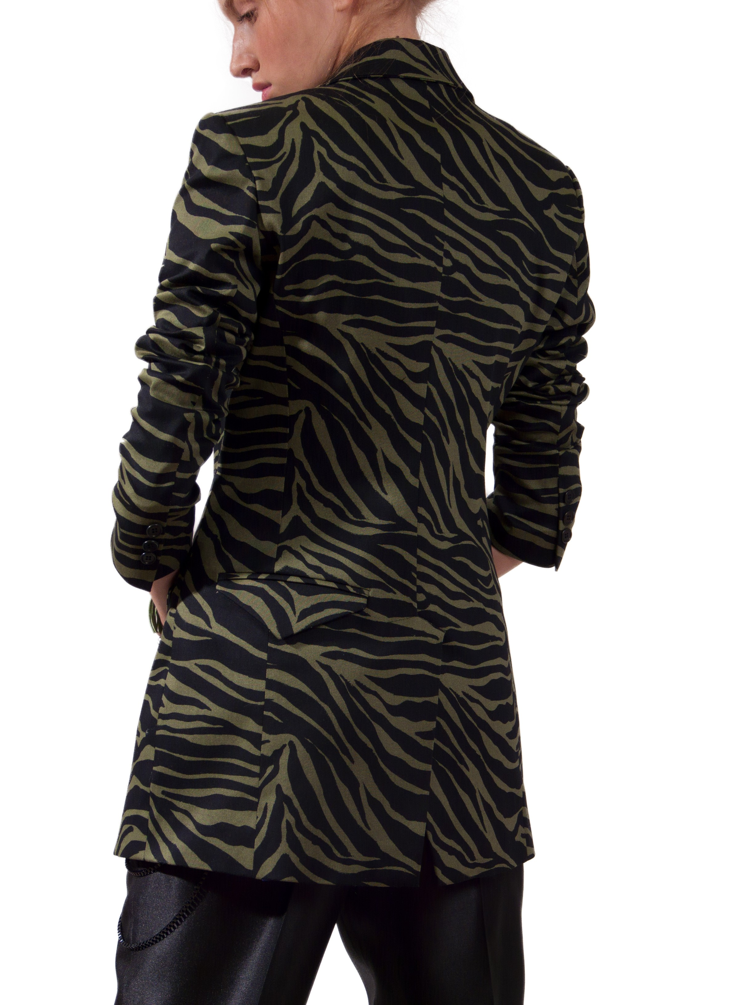 JSP SLIM ZEBRA JACKET