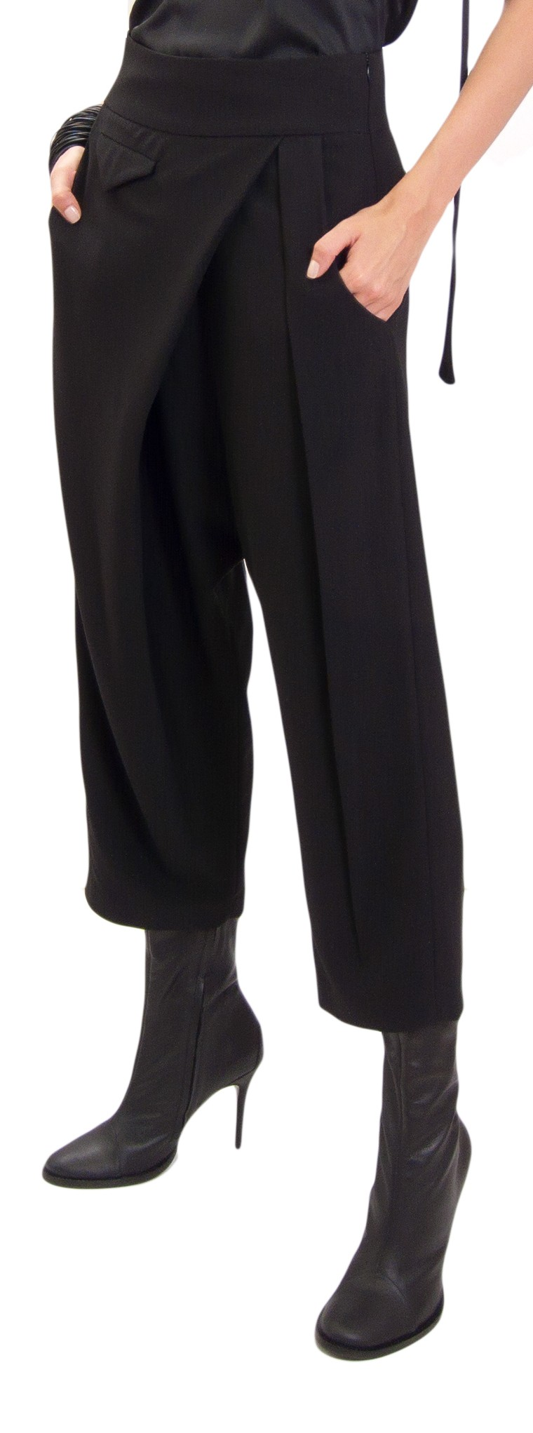 JSP ASYMMETRIC PANTS